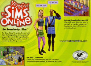 The Sims Online Advertisement