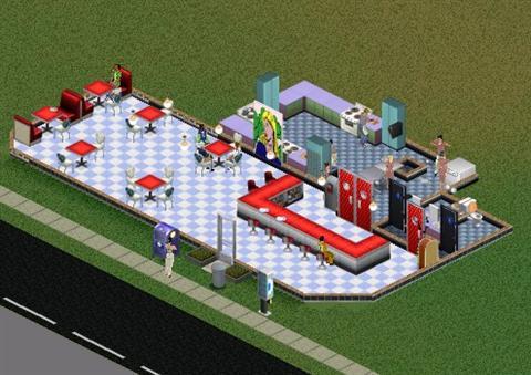 Sims Restaurant Server Wont Take Food